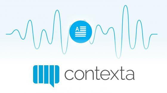 Speech to text API Contexta